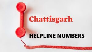 Chattishgarh Important Emergency Numbers