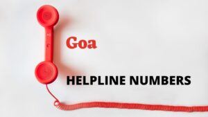 Goa Important Numbers