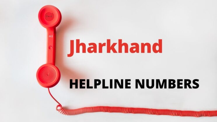 Jharkhand Important Numbers